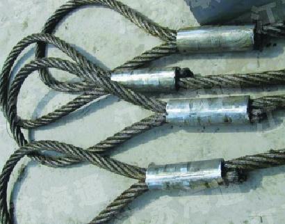 压制钢丝绳成套索具